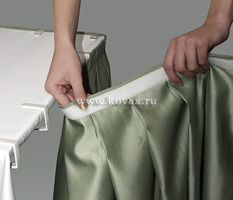 Сшить юбку для скатерти
