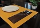 Салфетки под тарелки и столовые приборы