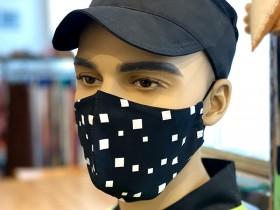 Защитная черная маска