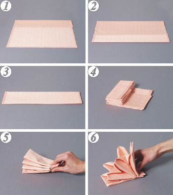 أفكار لتزين المائدة